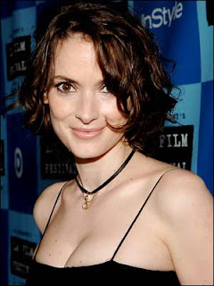 Actress Winona Ryder dreads turning 40