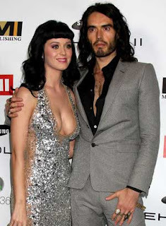 Russell Brand and Katy Perry shopping for cats!