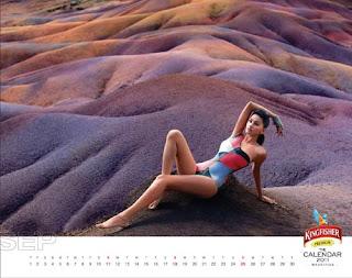 Kingfisher Calendar 2011 - September