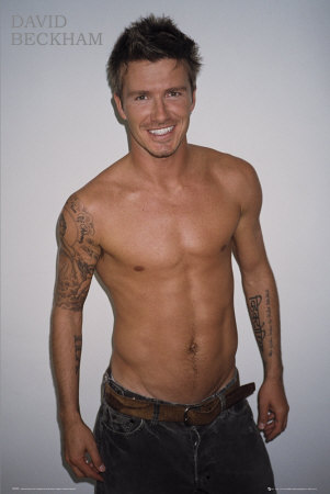 minute duh smokin h-o-t DAVID BECKHAM