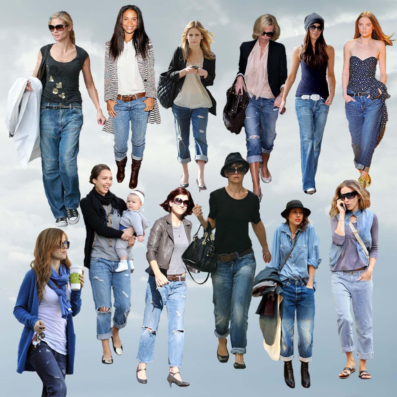 Boyfriend Jeans Looks - StyleBistro