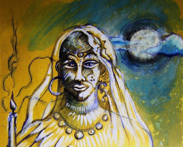 ritual gitano de la luna amarilla