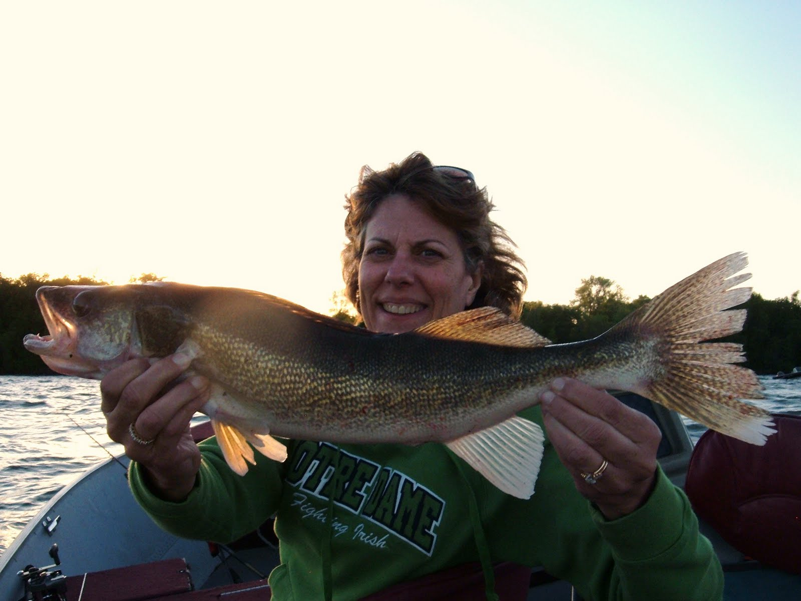 Yellow dog patrol leech lake fishing report late may 2010 for Leech lake fishing report