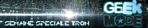 Bannière de la semaine spéciale Tron