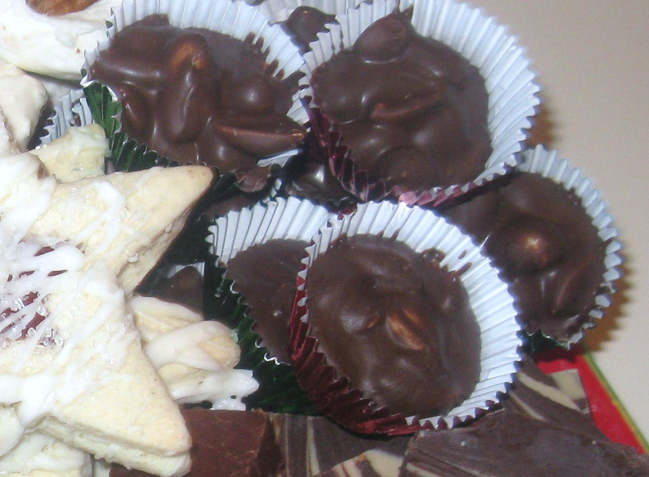 Happenings: Classic Chocolate Peanut Clusters {Granny's Recipe