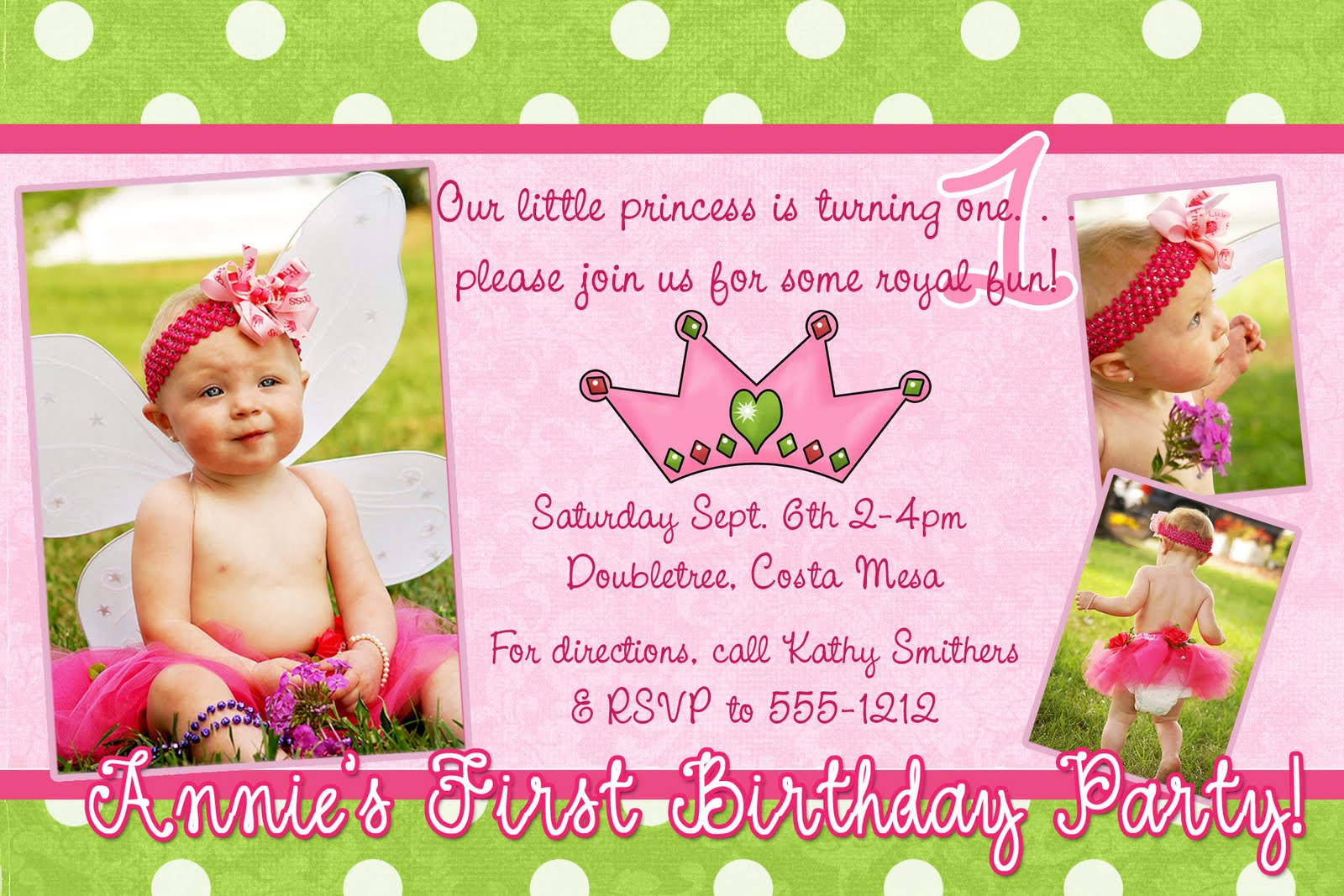Spellbound Designs Custom Photo Announcements and Invitations