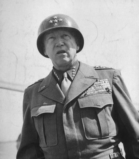 War God Patton General George S Patton Pictures