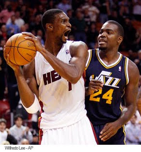 Chris Bosh fears Paul Millsap