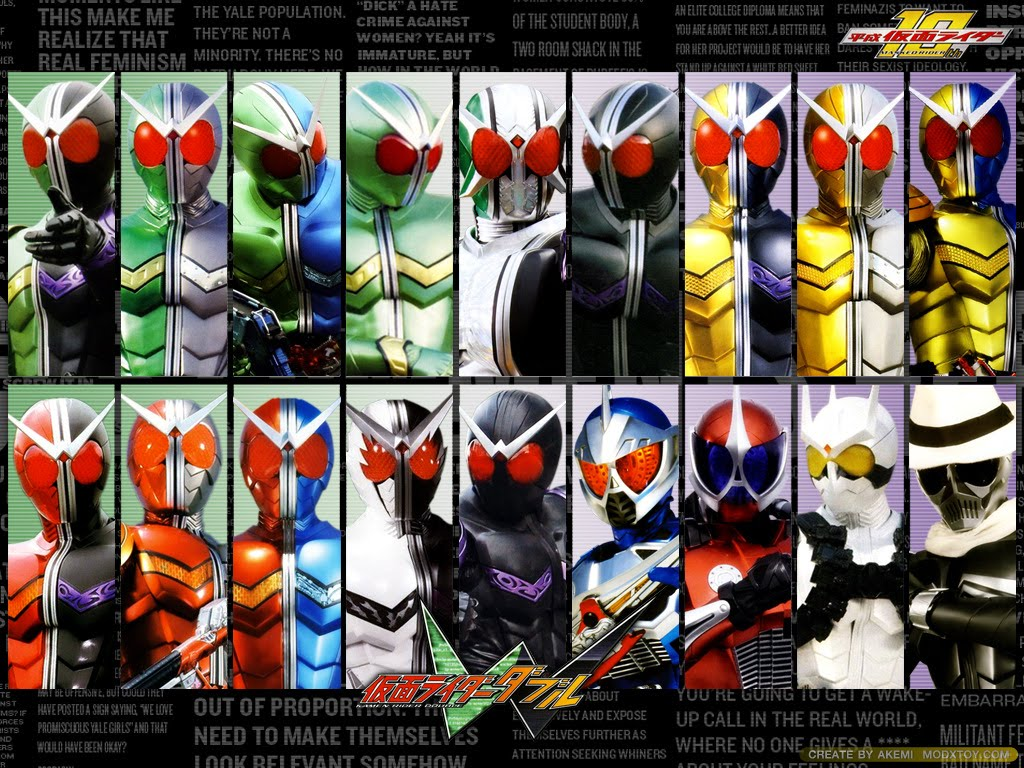 Mcm2ada: [Movie] Kamen Rider W Forever A To Z : Unmei no