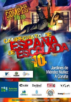 Campeonato de España de escalada 2010