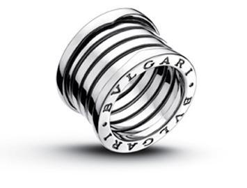 Bvulgari Wedding Ring, bulgari, silver