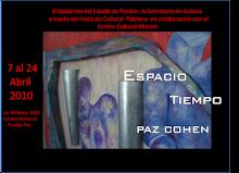 Espacio Tiempo / Paz Cohen