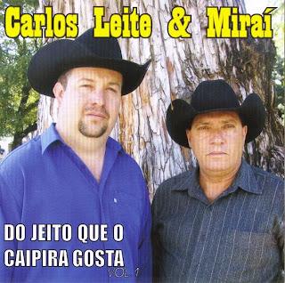 CARLOS LEITE  E MIRAI   VOL 01   2008