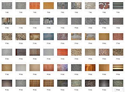 arquitectura texturas 3d