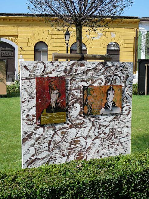 """"""" ARANYKOR """" , Installáció, 2008. , Váci Világi Vígalom - Kettős Tamás - Cs. Nagy András - CSNB"""