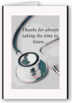 Ask An MD: Thanking The Doctor, Not The Chart