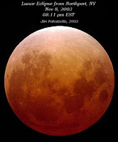 december 21, 2010:  winter solstice and lunar eclipse