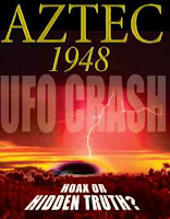 ufo crash at aztec, nm