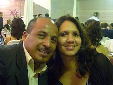 Pastor Martin Plaza y esposa
