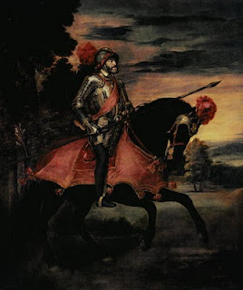 Carlos V en la batalla de Mhlberg (Tiziano)
