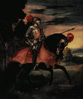 Carlos V en la batalla de Mühlberg (Tiziano)