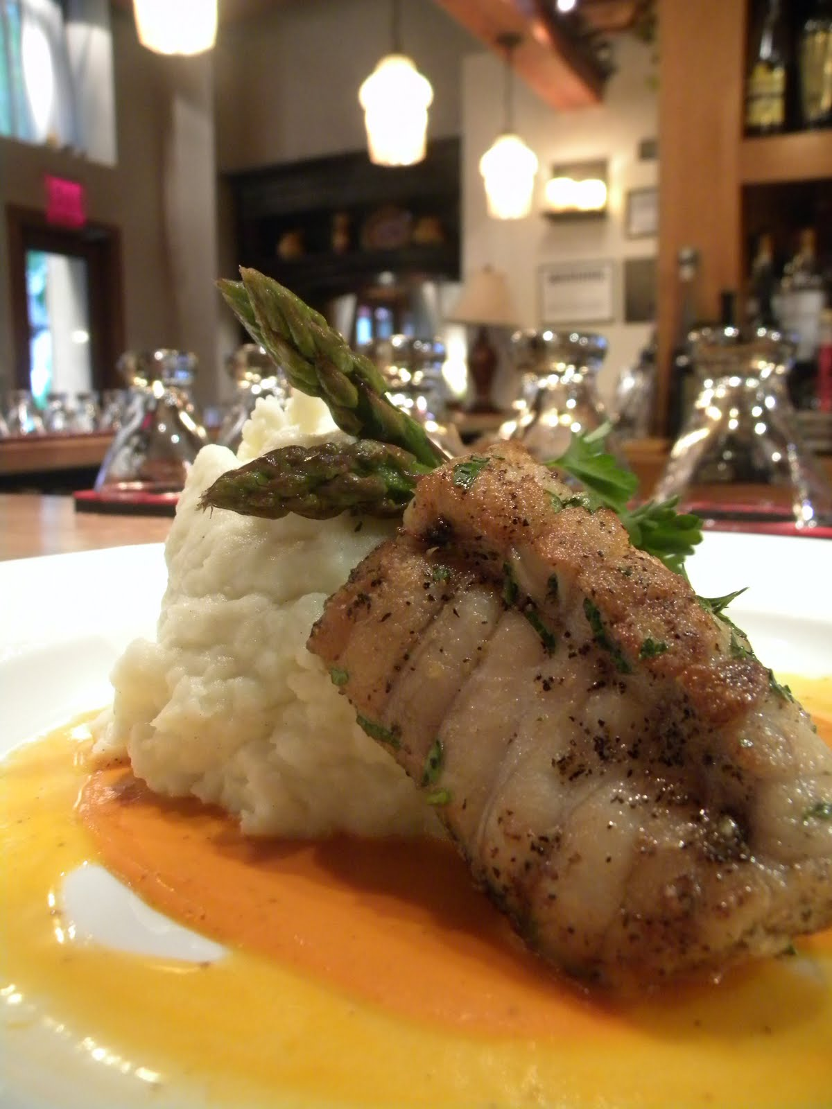 Pan Roasted Monk Fish,