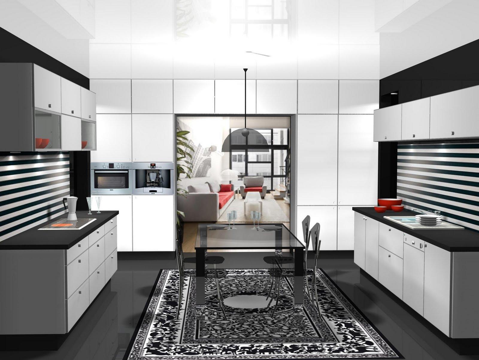 Dise o de cocina en paralelo for Cocinas en paralelo