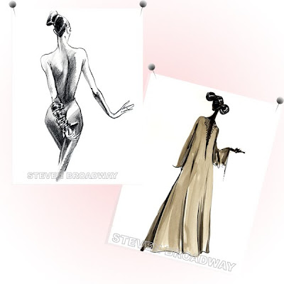 Fashion Mannequin Templates on Fabulous Doodles Brooke Hagel Fashion Illustration Blog  March 2010