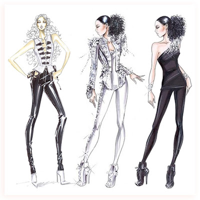 High Fashion Designers Designs on Love Seeing  And Collecting  Designer Fashion Illustrations  And Its