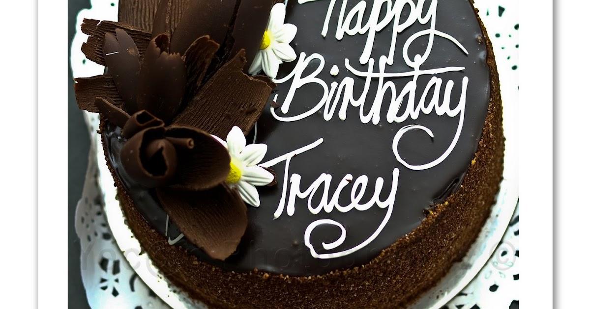 Happy Birthday Tracey Cake