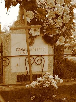 Grandpa's tombstone: Cohal Nastasa, 90 years