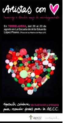 cartel de Artistas con corazón 09