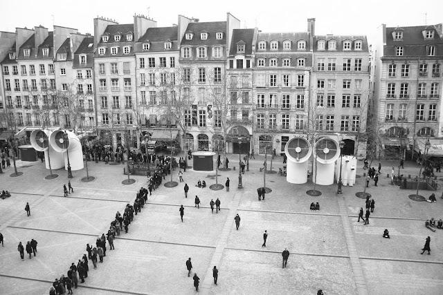 PARIS -θεα από το Beaubourg (Centre G. Pompidou)