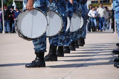 de concurso de bandas de guerra: