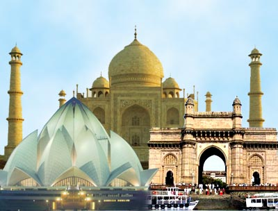 24news historical monuments of india for Historical vacation spots in the south