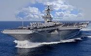 USS Ronald Regan, o maior porta-aviões do mundo, integrante da quarta frota