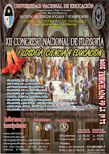 XII CONGRESO NACIONAL DE FILOSOFÍA -UNE - 2009