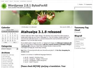 Plantilla Atahualpa para Blogger