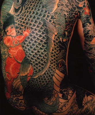 A Hero of the Water Margin (Suikoden) Japanese tattoo that was done in