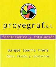 "PROYEGRAF, S.L     AUSPICIA  ""El OJO Vale N tinO"""