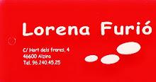 "LORENA FURIÓ AUSPICIA ""EL OJO VALE N TINO"""