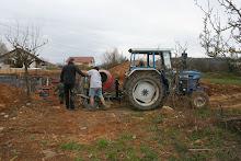 tracteur avec bétoniere