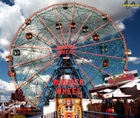 Wonder Wheel Stays Open, Coney Island