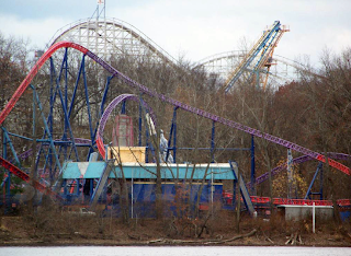 Superman Ride of Steel - Lex Luthor Coaster