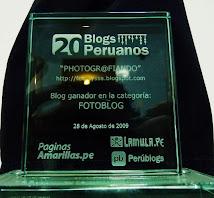 Ganador Fotoblog 2009!