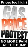 Gas price protest