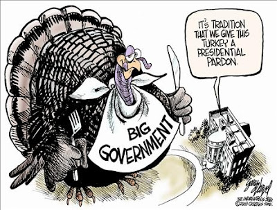 President Pardons Big Government Turkeys