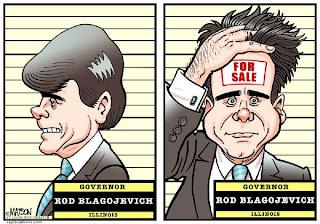 Rod Blagojevich mug shots