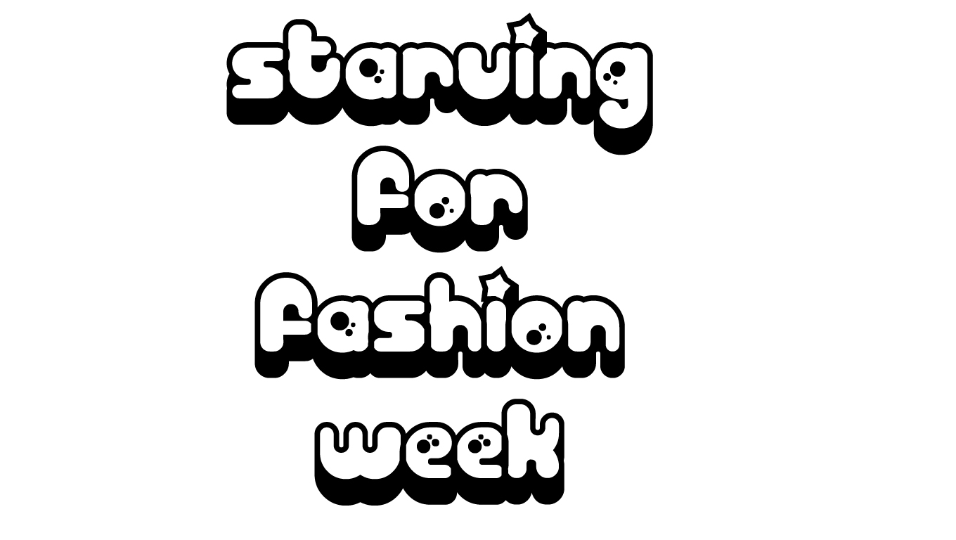 :::Starving for fashion week, welcome !:::