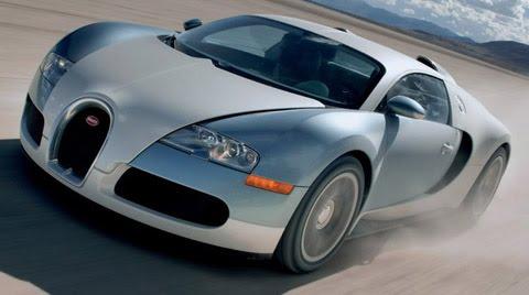 Bugatti Veyron 253 mph, 0-60